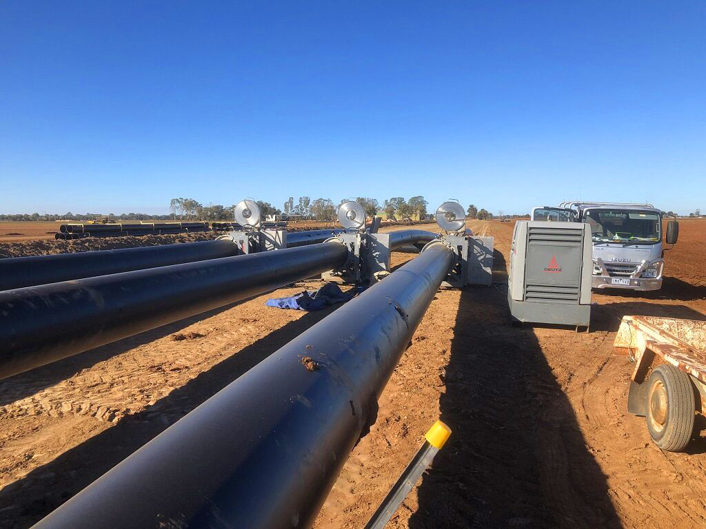 Pipeline installation - G&M Poly Irrigation