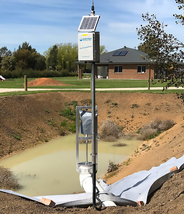 Automated water management - G&M Poly Irrigation