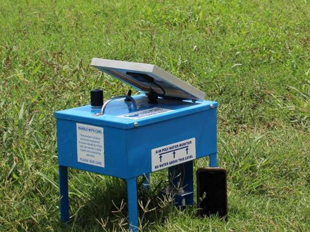Automated water monitors - G&M Poly Irrigation