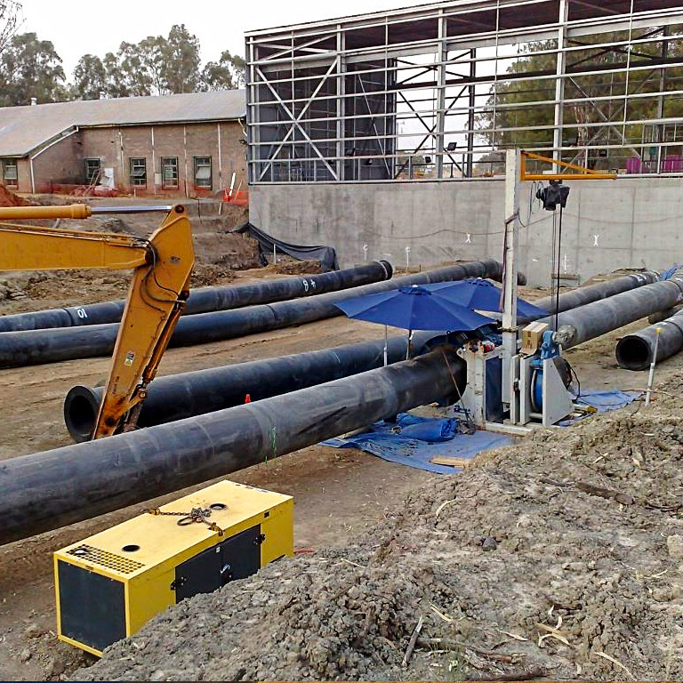 Civil and industrial poly installation - G&M Poly Irrigation