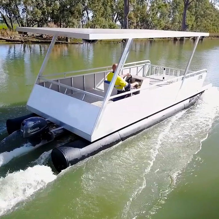 Pontoon boats - G&M Poly Irrigation