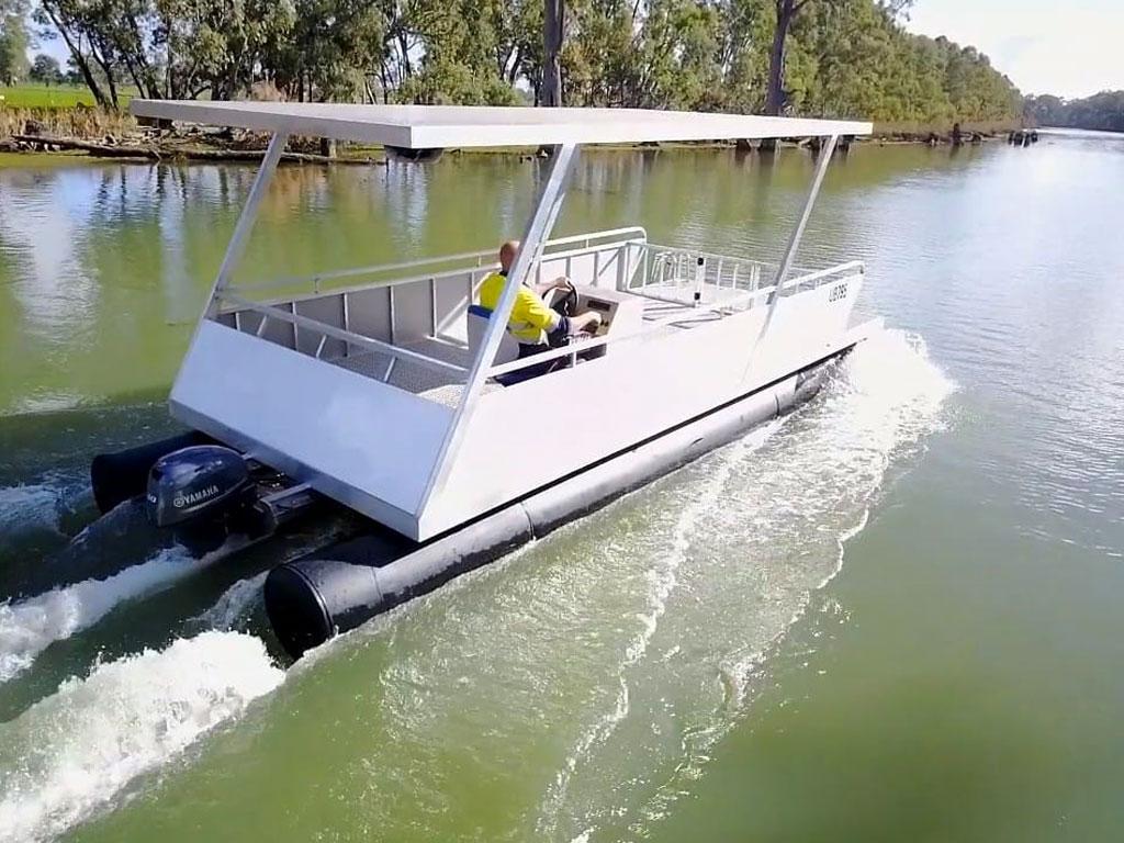 Pontoon boats - G&M Poly Irrigation
