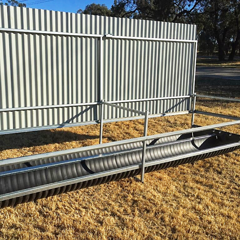 Poly stock troughs - G&M Poly Irrigation