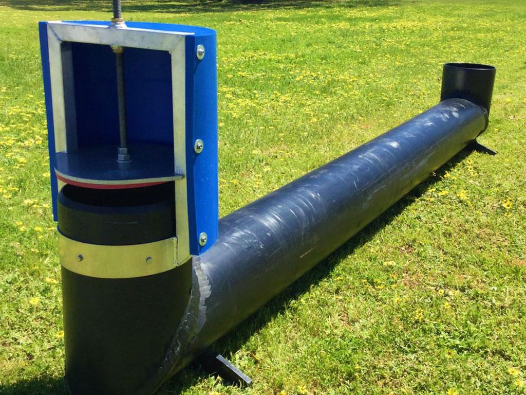 Irrigation bay outlet bay riser - G&M Poly Irrigation