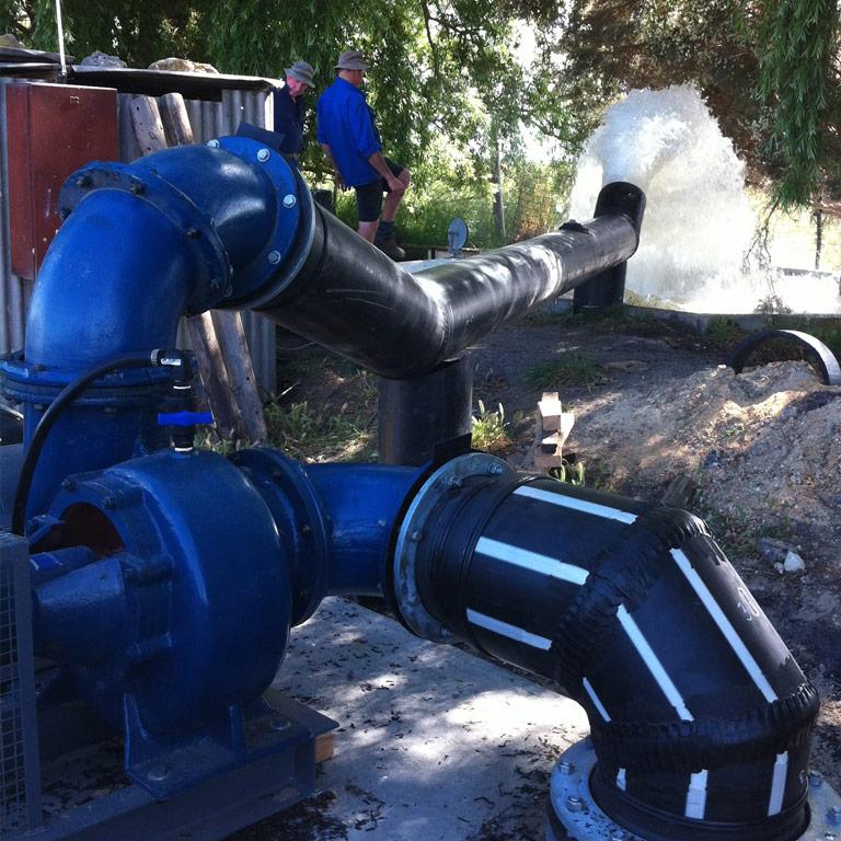 Irrigation poly pumps - G&M Poly Irrigation