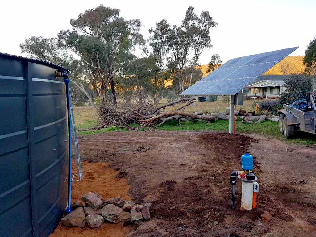 Solar pumps - G&M Poly Irrigation