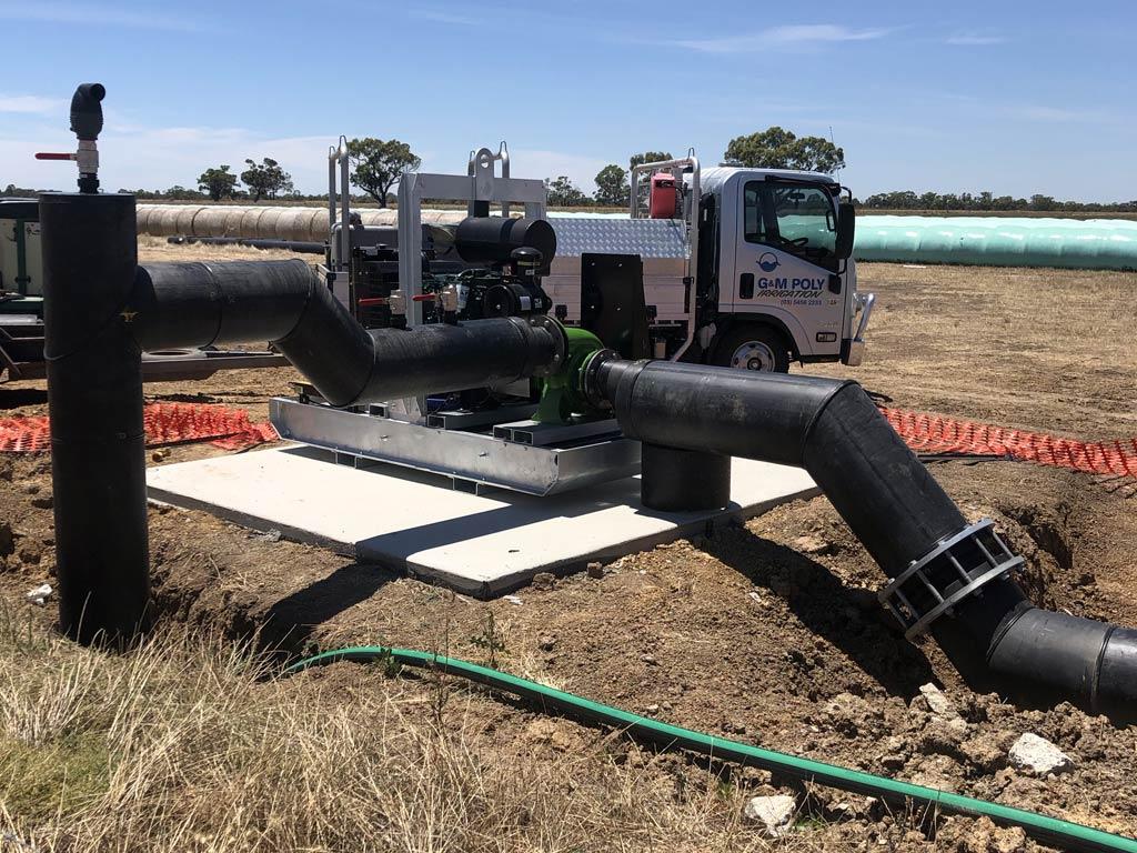 Pump stations - G&M Poly Irrigation